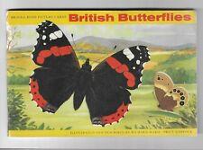 Brooke Bond 1963 British Butterflies complete set in album - pre-owned
