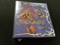 Magic The Gathering MTG Old Vintage Promo Binder Portfolio Stronghold Strong