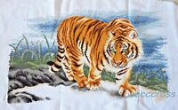 "New Completed finished cross stitch""BEAUTIFUL TIGER""home decor gift"