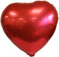 Ballon aluminium forme coeur 48 cm idéal st valentin lot de 5 couleurs