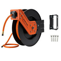 Giraffe Industral Air Hose Reel With 3/8 in. x 50 Ft Hybrid Air Hose