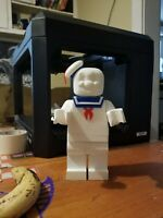 Large Lego Ghostbusters Stay Puft Figure 10 Inches Tall