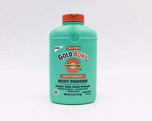 Gold Bond Medicated Extra Strength Powder Triple Action Formula 4 oz Exp 11/2022