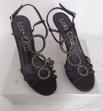 Lola Cruz Black 044P30BK Platform Sandal UK 6.5 EU 39 NEW BOXED RRP £140