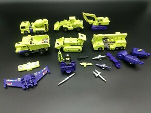 Transformers: Vintage G1 Constructicon Devastator Almost Complete