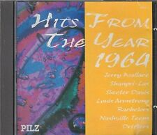 Hits from the Year 1964 Jerry Wallace, Shangri-Las, Skeeter Davis, Bachel.. [CD]