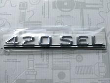 Original Mercedes Schriftzug / Typbezeichnung / Typkennzeichen 420SEL W126 NEU
