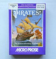 AMSTRAD CPC 6128 128k Disk - Sid Meier's PIRATES! - MicroProse - 1987 - TESTED