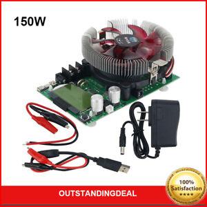 150W Digital Battery Capacity Tester Voltmeter Load Charger USB Meter Indicator
