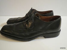 JOHNSTON & MURPHY 10.5 M Harding Black Leather Oxford Shoes Men's 20-6461