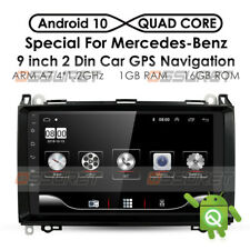 "Für Mercedes Benz A200 B200 W245 W169 Sprinter 9"" 2Din Autoradio GPS BT SWC Navi"