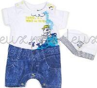 Deux Par Deux Baby Girls Romper Cotton Jungle Pop Print Sizes 9M-24M NWT