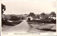 Malham. Bridge & Village from Clark's Corner # M.39 by Lilywhite.