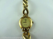 Classique Women's Bangle Watch Swiss Quartz Gold Plated