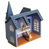 DIY Dollhouse Mini House Cottage Wooden Toy Doll's Accessory Set Chic