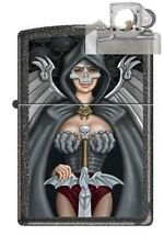 Zippo 9014 woman warrior iron Lighter with PIPE INSERT PL