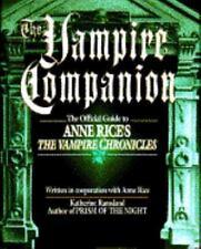 The Vampire Companion Guide Anne Rice's Vampire Chronicles Ramsland 1993 HC 1st