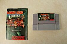 Donkey Kong Country (Super Nintendo, SNES) with Manual