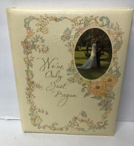 Hallmark Vintage 1976 Wedding Guest Book Fill In Keepsake Book