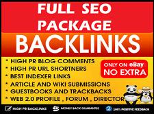 FULL SEO ! 500 Backlinks Package . 100% Penguin and Panda SAFE ! Boost Ranking .