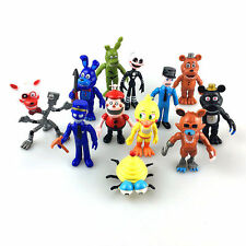 12PCS Doll Five Nights at Freddy's FNAF Game Action Figures Kids Toy Set Gift