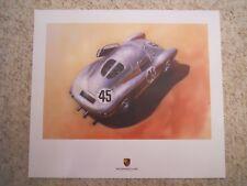 Porsche Le Mans Historic Poster Series -- Porsche 550 Coupe Poster RARE