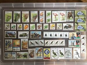 Kenya Stamps unchecked collection (bb343)