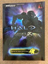 Halo Play Arts Kai - Spartan Mark V-Gold. Square Enix (BOXED - COMPLETE)
