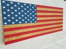 "42"" American Flag Concealment Furniture Compartment Cabinet Secret Gun Storage"
