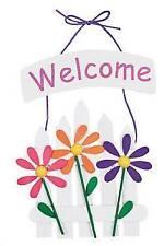 1 Spring Welcome Fence Sign Craft Kit Great for Kids Spring Flower