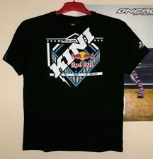 Kini Red Bull T-Shirt Slanted Tee Schwarz Black Gr. M MX Enduro neu