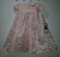 Dorissa Baby Girl's Butterfly Dress, Pink, Size 18M... RRP $49.95