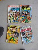 Lot of 4 1985 Comic Books Shadow War of Hawkman #1-4