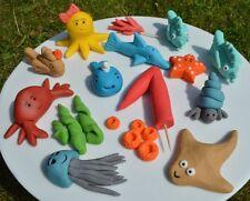 3D Novelty HANDMADE FISH / UNDER THE SEA  CAKE TOPPER / birthday