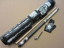 Action Eight 8 Ball Mafia Gift Set EBM06 Cue 2x2 Case Glove & Chalker