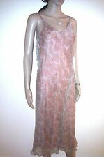 COAST Silk Evening Dress. Long, Almost Maxi. Casual or Cocktail Party.   SIZE 8