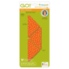 """AccuQuilt GO! & Baby Quarter Square Triangle-4"""" Finished Square Die 55316 Quilt"""