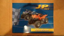 Dinli OEM JP502 DL- 502 DEALERSHIP PARTS  MANUAL  RARE NEW!
