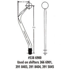 """HURST 5386900 Replacement Shifter Stick Handle Chrome Steel, 13-1/2"""" LONG"""