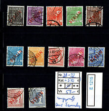 (E1215) Berlin Nr. 21 - 32 o Aufdrucke ungeprüft aus Sammlung sehen gut aus!!