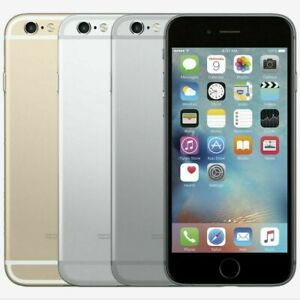 "Original Apple iPhone 6 - iOS 64GB Gray Silver Gold 4.7"" Unlocked Cell Phone"