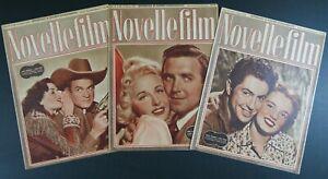 n°32 riviste NOVELLE FILM 1950 settimanale di racconti cinematografici 16 pagine