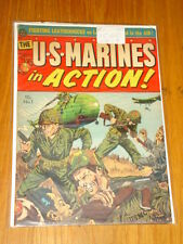 US MARINES IN ACTION #1 VG+ (4.5) AVON COMICS AUGUST 1962