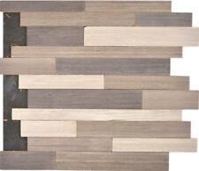 Selbstklebende holzpaneele Holzwand Grau Braun Wand Matt 170-PW3I10Holzmatten