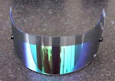GENUINE ARAI GREEN IRIDIUM LIGHT TINT ANTI FOG VISOR GP-6/GP-6S/SK-6