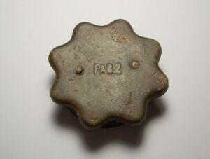 WW2 Germany Original Stielhandgranate M 17/M 24 Metal Cap Marked FAB2 War Relic