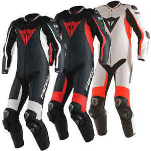 Dainese Misano D-Air 1 Piece Motorcycle Leather Suit