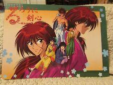 Rurouni Kenshin Shitajiki Pencil Board Hitokiri Samurai Ronin Scar Redhead Sword