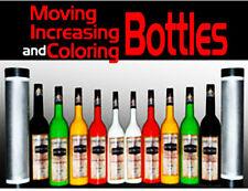 Moving, Increasing, Coloring 10 Bottles - Tora Magic Trick Stage Illusion bottle