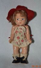 Vintage Vogue Strung Ginny Doll Painted Eye